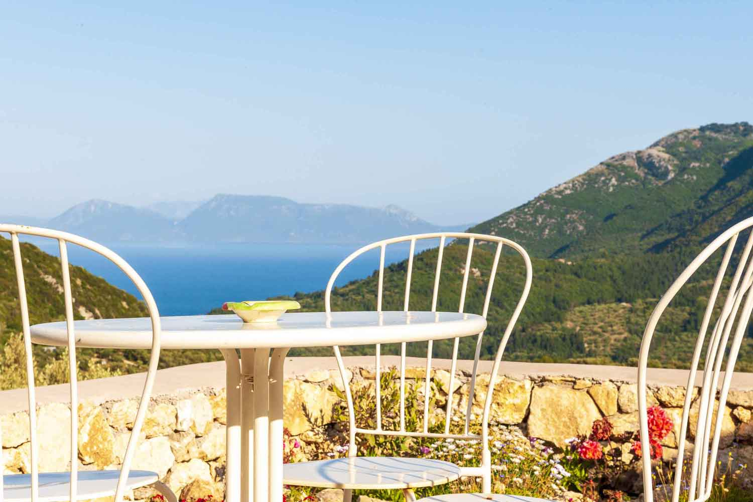 private pool villa - accommodation, perfect view from terrace