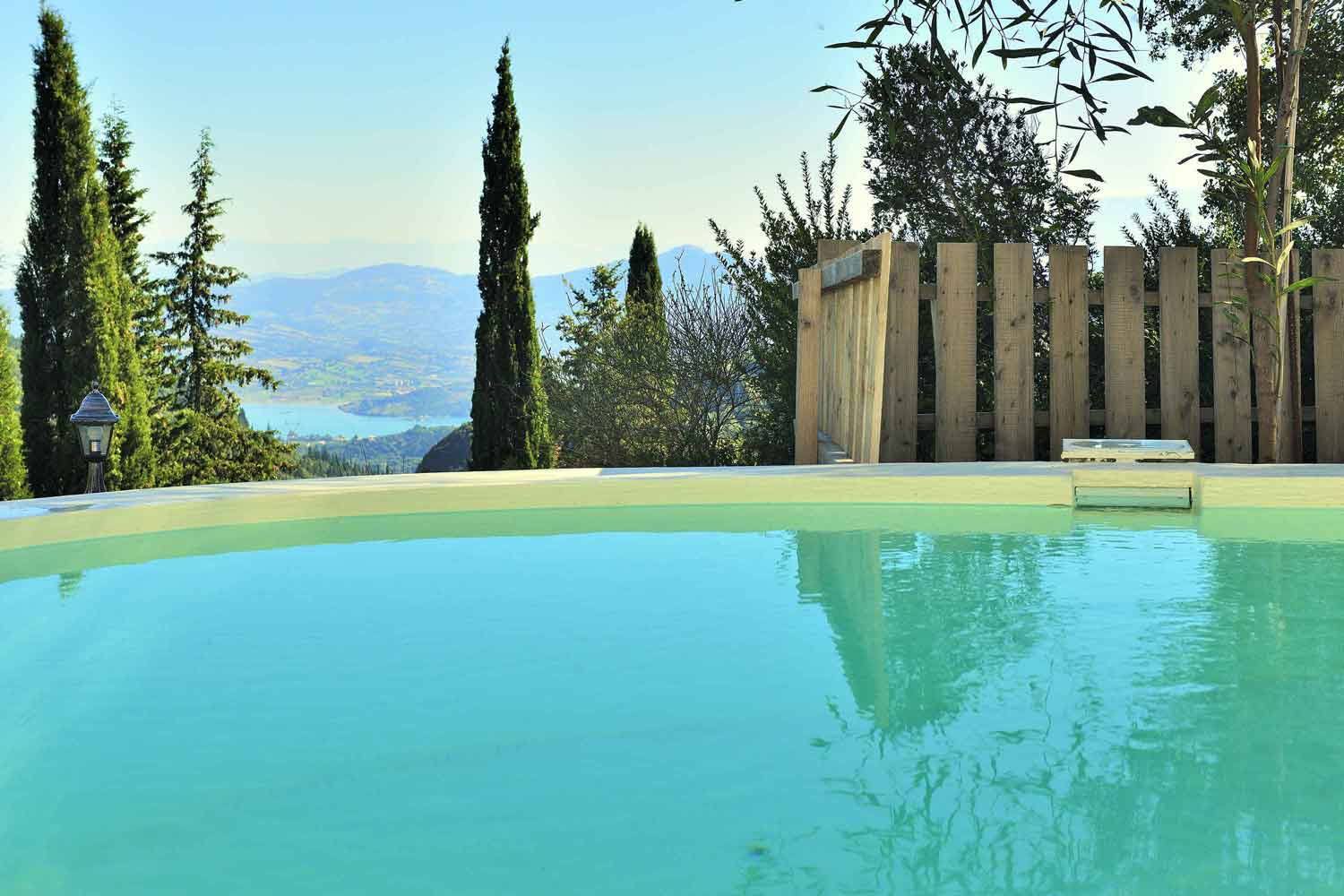 private pool villa for couples, amazing view from pool