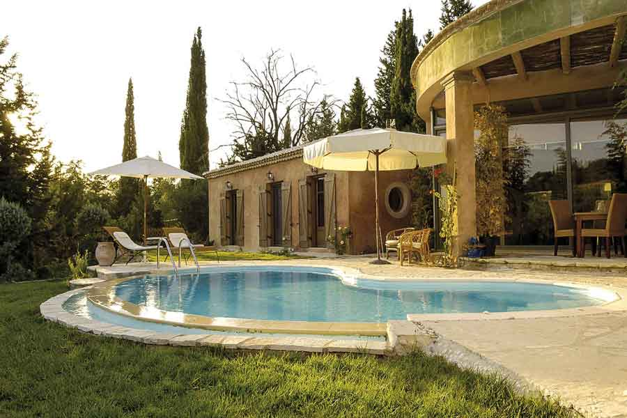 private pool villa for families, gorgeous spacious garden
