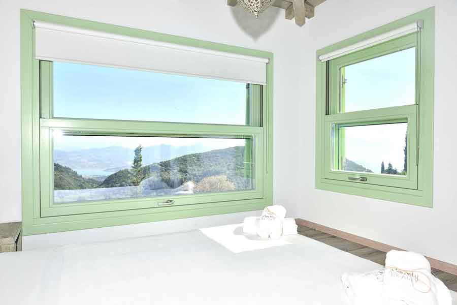 private pool villa to rent, a perfect view from window